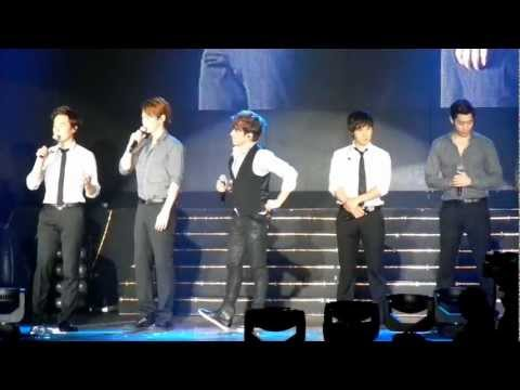 Fancam - Andy's Ment [Shinhwa The Return Concert - Singapore] (120616)