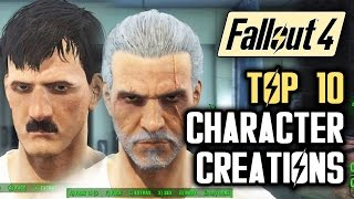 getlinkyoutube.com-Fallout 4 Top 10 Character Creations in the Wasteland: Hitler, Walter White, Obama and More!