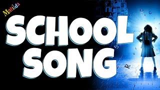 School song Matilda the musical Backing track karaoke instrumental