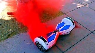 getlinkyoutube.com-HoverBoard Fire Prank 🔥