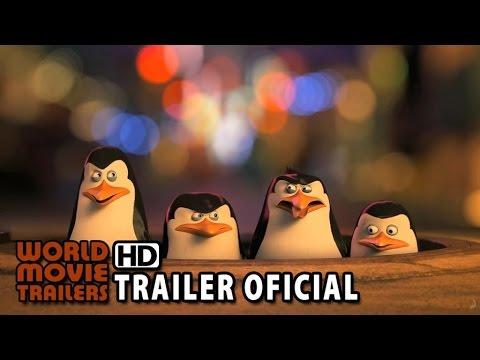 Os Pingüins de Madagascar Trailer Dublado BR (2015) HD