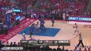 getlinkyoutube.com-Russell Westbrook vs Chris Paul Full Duel Highlights 2014 West Semis G3 - Thunder at Clippers