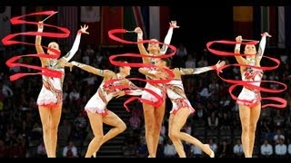 getlinkyoutube.com-Rhythmic Worlds 2011 Montpellier - Groups All-Around Finals - We are Gymnastics!