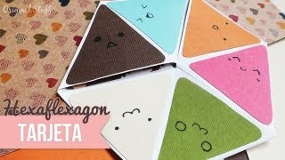 "getlinkyoutube.com-Carta ""Hexaflexagon"" [Scrapbook] - Original Stuff"