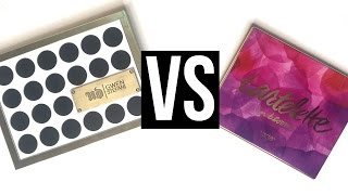 getlinkyoutube.com-UD Gwen Stefani Palette VS. Tartelette 2 In Bloom Palette