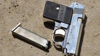 getlinkyoutube.com-Yonezawa Colt Pocket Shell Ejecting Spring Toy Gun ヨネザワ コルトポケット