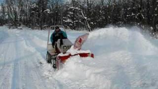 getlinkyoutube.com-ultimate Diesel snow blower part TWO