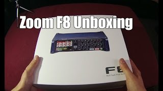 Zoom F8 Unboxing / Overview
