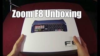 getlinkyoutube.com-Zoom F8 Unboxing / Overview