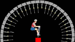 getlinkyoutube.com-IMPOSSIBLE HARPOON LEVEL! (Happy Wheels #33)