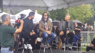 getlinkyoutube.com-Rush Geddy Lee & Alex Lifeson at Opening of Lee Lifeson Art Park Part 1