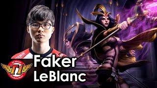 getlinkyoutube.com-Faker picks LeBlanc