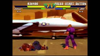 Street Fighter EX Plus Alpha- Garuda Playthrough