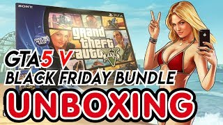 getlinkyoutube.com-PS4 Black Friday Bundle (Grand Theft Auto (GTA 5) V and The Last of Us Remastered) Unboxing