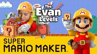 getlinkyoutube.com-Let's Play SUPER MARIO MAKER - The Evan Levels!