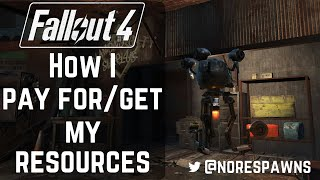 getlinkyoutube.com-Fallout 4 - How I pay for & get my resources to build