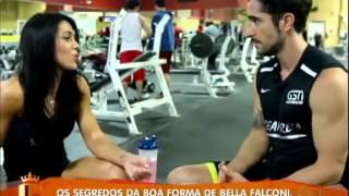 getlinkyoutube.com-Marcos Mion encontra Bella Falconi, a musa fitness que o inspirou - 24/08/13