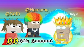 Growtopia - Never fight @Seth and @Hamumu + Golden hair dye