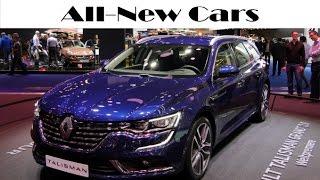 getlinkyoutube.com-All-new Renault Talisman 2015 / 2016 IAA exterior, interior