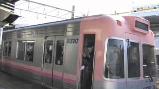 getlinkyoutube.com-【京王電鉄】1000系 1710F 井の頭線 永福町駅 きびきび女性車掌さん