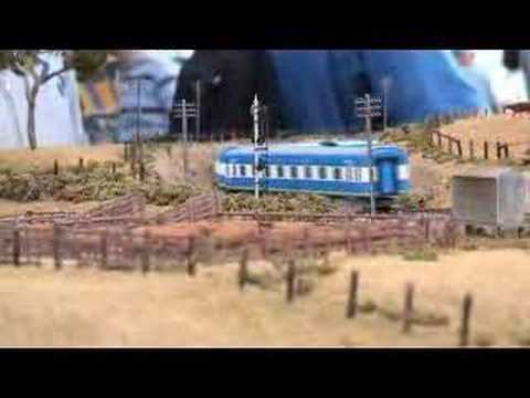 Murranbilla - Part 1 Box Hill exhibition 2004 - Australian Model Railway Layout