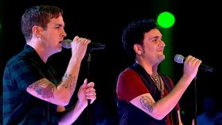 getlinkyoutube.com-Stevie McCrorie Vs Tim Arnold - Battle Performance: The Voice UK 2015 - BBC One