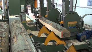 USTUNKARLI - UHM140 Bandsaw and Hydrostatic Carriage