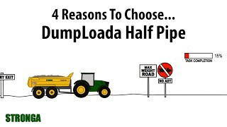 4 reasons to choose a Stronga half pipe dump trailer