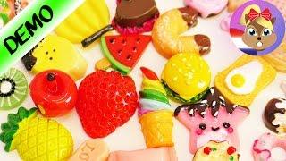 KAWAII SNOEPJES om te verzamelen, spelen + decoreren   Super schattige meloen ananas donut cupcake