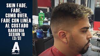 getlinkyoutube.com-Barberia Sesion 10 (Skin fade, fade, Comb over, fade con linea al costado)   (3/3)