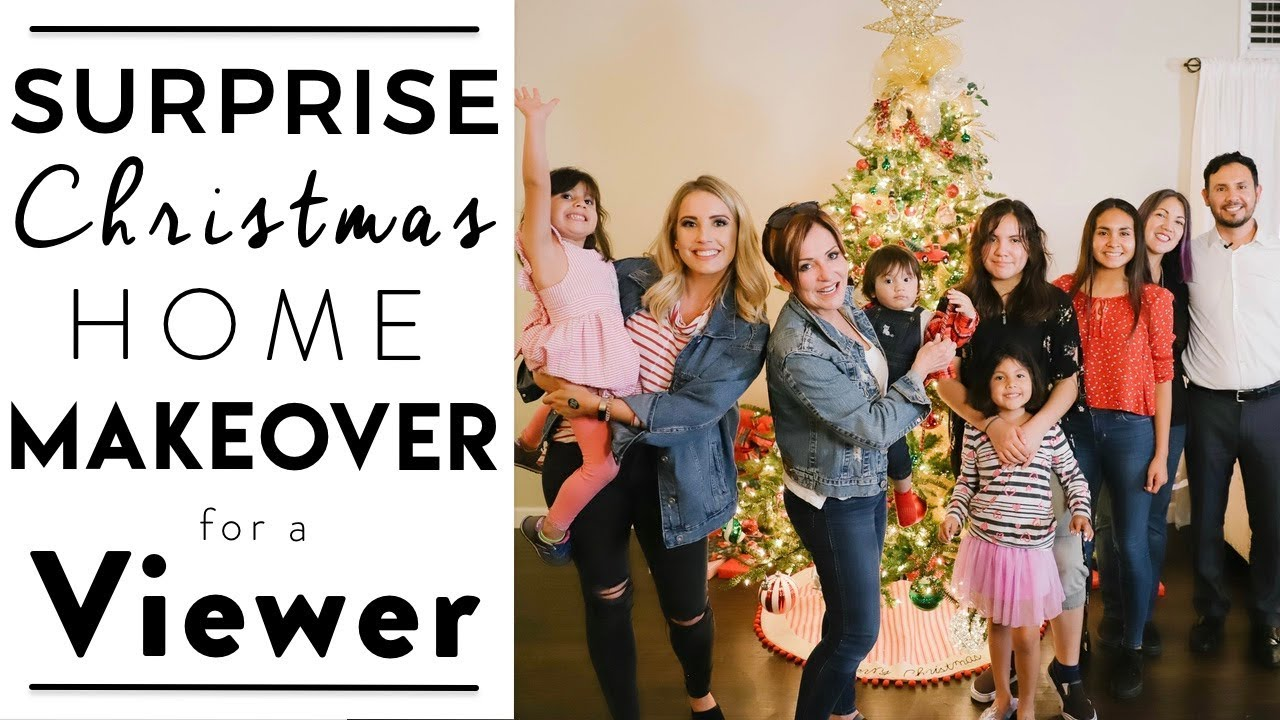 A Christmas Miracle Home Makeover | Decorating a Viewers Home for Christmas