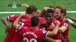 Cuplikan gol Manchester United VS West Ham United 4-0
