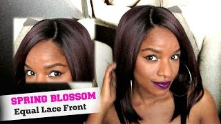 getlinkyoutube.com-REALISTIC Lace Front Wig│Spring Blossom by Freetress Equal