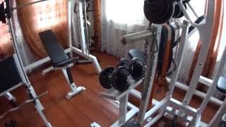 getlinkyoutube.com-Мотивация. Бросай пить покупай тренажеры. Тренажерный зал дома.  домашние тренировки.