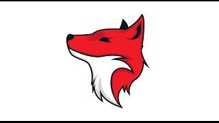 getlinkyoutube.com-7# Adobe Illustrator CC - Speed Fox Logo Design