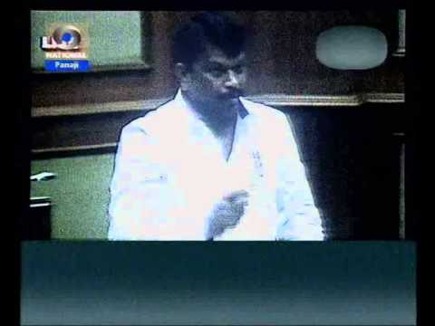 Michael Lobo raises question on no sign boards at accident prone zones reports Goa Doordarshan news