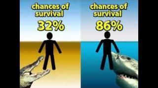 getlinkyoutube.com-Versus!  Ep 1: Croc Versus Shark