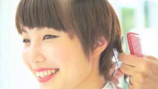 getlinkyoutube.com-【HEAVENS 小松敦編】パーマなし カットだけで変身! ヘアカタログ―髪を切るだけで可愛くイメチェン