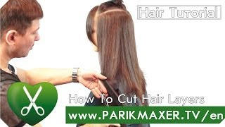 getlinkyoutube.com-How To Cut hair Layers parikmaxer tv english version