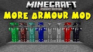 getlinkyoutube.com-MORE ARMOUR MOD in MCPE!!! - Awesome Armour Abilities - Minecraft PE (Pocket Edition)
