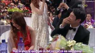 [VIETSUB] [30.12.2012] MBC Drama Awards - Yoochun & Eunhye Best Couple Interview