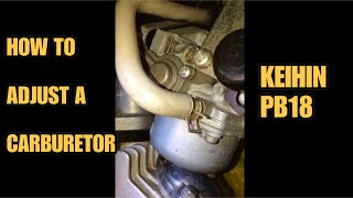 getlinkyoutube.com-How to Adjust Carburetor of Kawasaki Fury 125