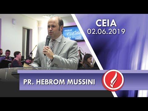 Pr. Hebrom Mussini | Íntimos do Senhor | Sl 122.1 | 02 06 2019