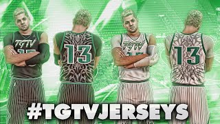 NBA 2K16 Pro Am - BEST JERSEYS SHOWCASE! #TGTVjerseys