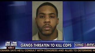 getlinkyoutube.com-New Jersey Cops On High Alert As 'Bloods' Gang Threaten To Kill More Officers