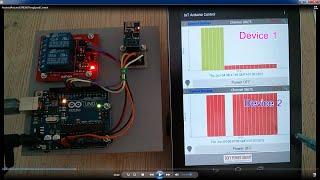 getlinkyoutube.com-Android Arduino ESP8266 IoT ThingSpeak Control Devices