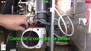 getlinkyoutube.com-Purificador de Água Não GELA - Veja Como Trocar a Peltier - LATiNA
