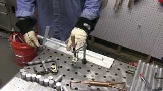 getlinkyoutube.com-TIG Welding one Inch Thick Aluminum with a 175 amp welder