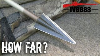getlinkyoutube.com-How Far Will a Bow & Arrow Kill?