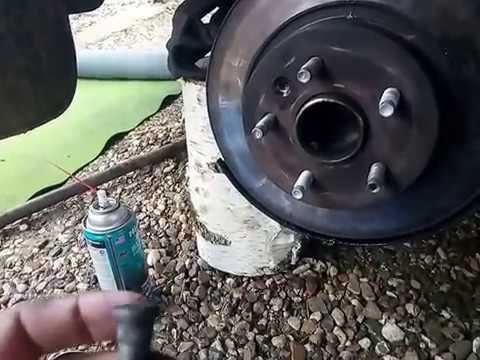 """Шевроле Круз  """"Замена шпильки заднего правого колеса,как правильно поменять..."""